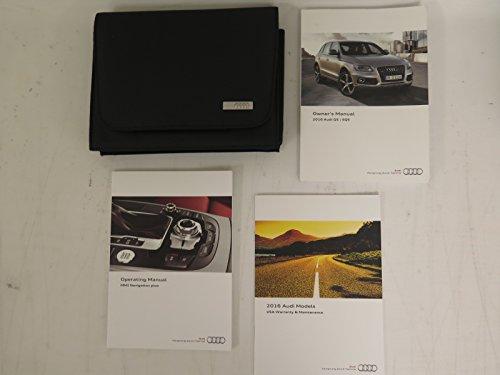 2016 Audi Q5 / SQ5 Owners Manual book