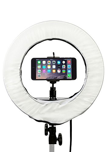 Prismatic 14'' Mini Halo Dimmable Ring Light with 6' Light Stand