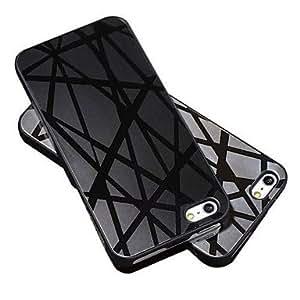 GONGXI-Caja de aluminio del espejo para Iphone 5 5S Lujo Nueva llegada contraportada dura