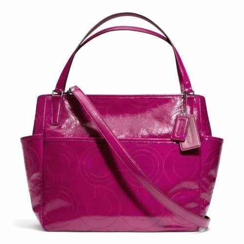 coach-stitched-patent-multifunction-tote-baby-bag-in-silver-deep-port-25141-by-coach