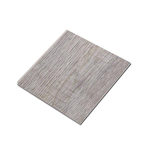 Cali Bamboo - Cali Vinyl Pro Commercial Vinyl Flooring, Extra Wide, Nantucket Harbor - Distressed Gray Wood Grain - Sample Size 6