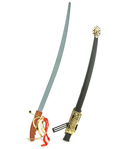 Deluxe Toy Calvary Officer Sword Saber With Scabbard, 27 Inches -