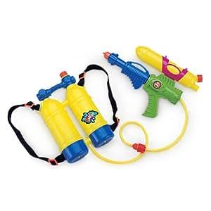 Pistola de agua con mochila-tanque de abastecimiento Juegos infantiles