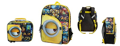 Despicable Me Minion I See You Backpack and Lunch Bag