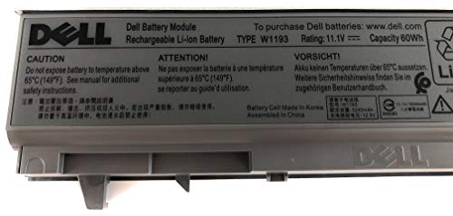 (Original Dell Latitude Battery for Dell Latitude E6400, Dell Latitude E6410, Dell Latitude E6500, and Dell Latitude E6510; Dell Precision M2400, Dell Precision M4400 and Dell Precision M4500)