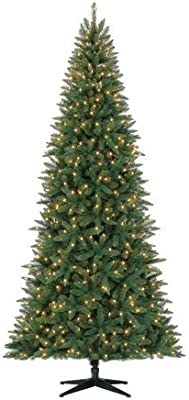 Pre-Lit 9' Williams Pine Artificial Christmas Tree, LED Clear-Lights