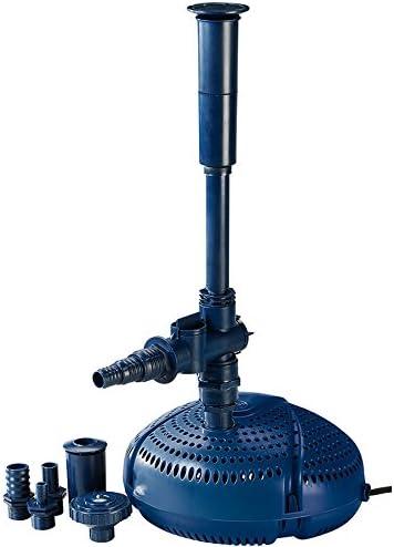 FIAP Aqua Active Mini Animada Fuentes de 3.000/filtro para Estanque de/Agua Parte Bomba para Arroyo, Estanque Fontäne, Potente para Agua Parte: Amazon.es: Jardín