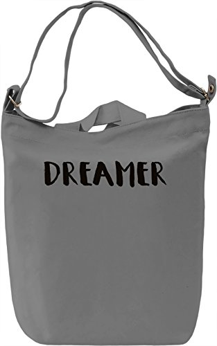 Dreamer Shirt Borsa Giornaliera Canvas Canvas Day Bag| 100% Premium Cotton Canvas| DTG Printing|
