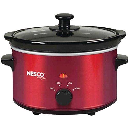 Nesco 1.5 Quart Slow Cooker  - 120 W - 1.50 quart - Metallic
