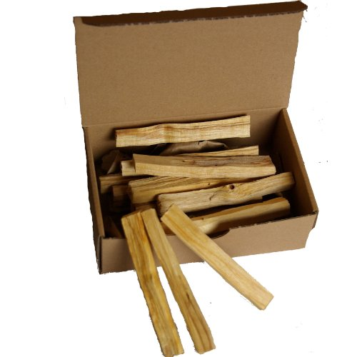 Meditation / Räucherwerk: 100gr Palo sacred Santo Großpack (ca 18-20 feine Stäbe je ~9-10x1x1cm; ~5-6gr/Stk) Palo Santo Holy Wood / köstlich duftendes 'Heiliges Holz' nachhaltig geerntet aus Südamerika