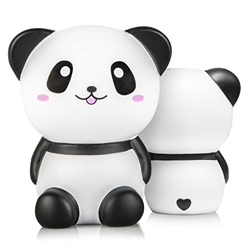 Squishies Slow Rising   Jumbo Kawaii Panda Squishy Toy, Super Soft and Slow Rising, Scented   Sensory, Autism, Stress Relief   Exclusive Licensed Designs for Kids and Adults by Oh So Squishy