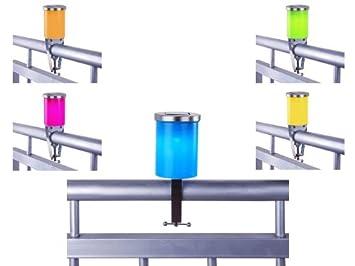 Solar Lampion Mit Led Lampe Fur Den Balkon Amazon De Kuche Haushalt