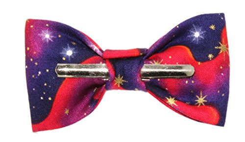 Toddler Boy 4T 5T Star Gazer Galaxy Clip On Cotton Bow Tie Bowtie by amy2004marie (Image #2)