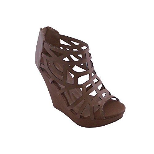 Sandalo Con Da Tacco Alto Blancho Da Con Donna toumbria  7180d9