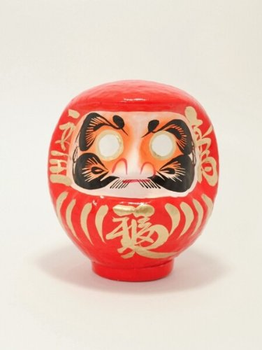 Daruma–Taglia 2–arancione–successo nella scuola JAPAN CRAFT