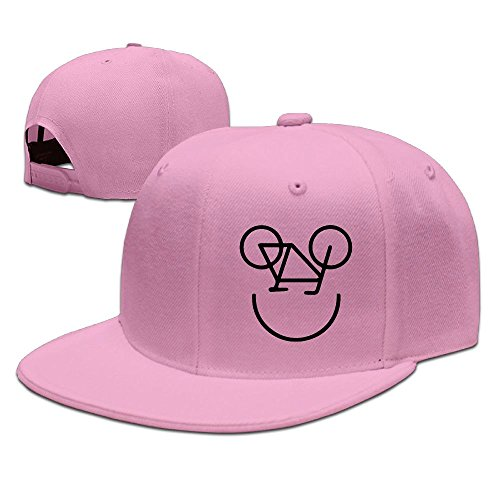998ba81afe0 WYF Men women Cycling Mountain Cyclists Bike Casual Style Jogging Pink Cap  Hat Adjustable Snapback