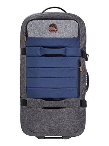 Quiksilver Men's New Reach Roller Luggage, Medieval Blue Heather, 1SZ