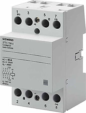 Siemens/ /Stromsto/ßschalter 5tt5/2/nicht 230/V AC 220/V Dauerstrom 1/Modul