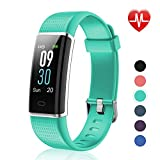 Letsfit Fitness Tracker Color Screen, IP68 Waterproof Heart Rate Monitor Activity Tracker, Pedometer