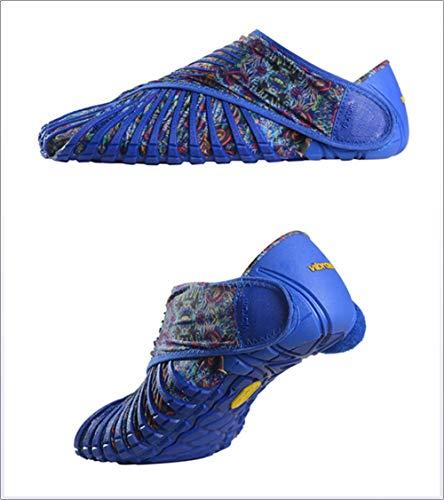 Unisex A Cinque Li Vibram Avvolte Dita Ultraleggere Tessuto Blue In Adulti Per Sportive Scarpe YqZnxU7n1