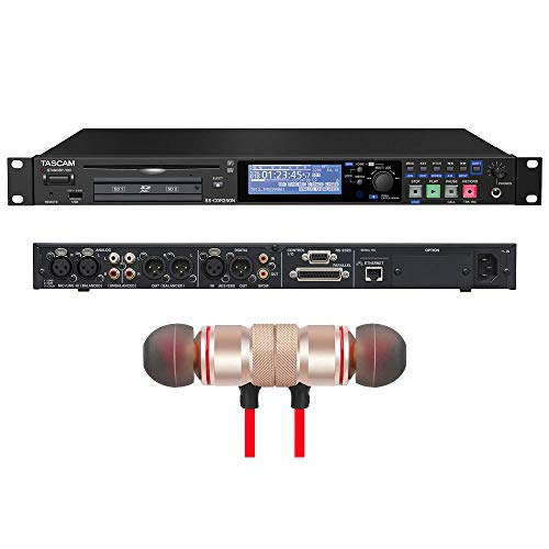 - Tascam SS-CDR250N 2-Channel Networking CD and Media Recorder Includes Free Wireless Earbuds - Stereo Bluetooth In-ear Earphones
