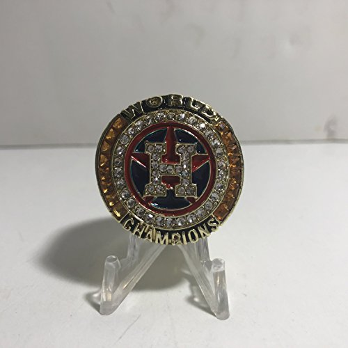 017 Houston Astros World Series High Quality Replica Ring Size 10-Gold Colored, Orange US SHIPPING (Champions Replica)