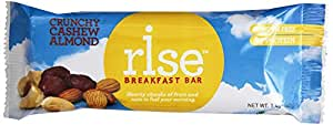 Rise Bar Non-GMO, Gluten-Free Breakfast Bars, Variety Pack, 12-Count