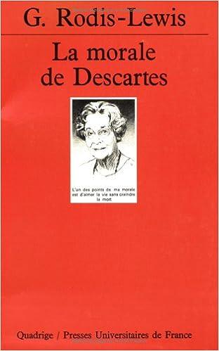 Livres gratuits La Morale de Descartes pdf epub