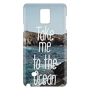 Loud Universe Galaxy Note 5 Take Me To The Ocean Print 3D Wrap Around Case - Multi Color