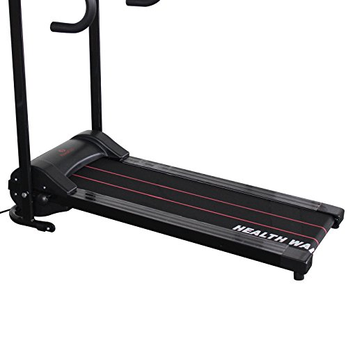 Idealchoiceproduct electric motorized portable folding for Best choice products black 500w portable folding electric motorized treadmill