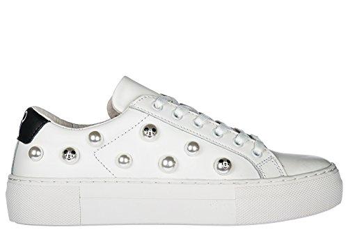 MOA Master of Arts Scarpe Sneakers Donna in Pelle Nuove Disney Cloud Pearl Bianco EU 37 MD170