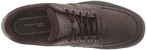 cheap 2014 Rockport Men's Get Your Kicks Mudguard Blucher Sneaker Dark Brown Leather cheap real eastbay cheap affordable b64ZUf9