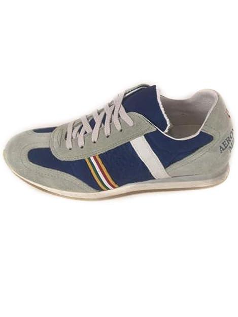 5a2aea4504 Aeronautica Militare Scarpe Sneakers Tricolore Blu N. 39, 45 S1/26 ...