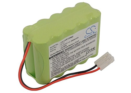 2000mAh Battery For Cardioline AR1200 ECG