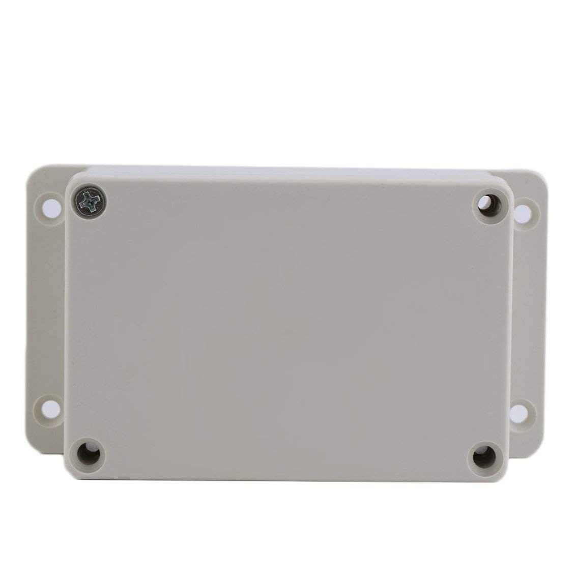 Blanco Caja impermeable de pl/ástico para proyectos electr/ónicos 100 x 68 x 50 mm Caja del gabinete Caja para instrumentos de caja de bricolaje