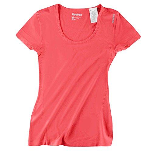 Reebok de las mujeres se Seamless camiseta de tirantes rosa