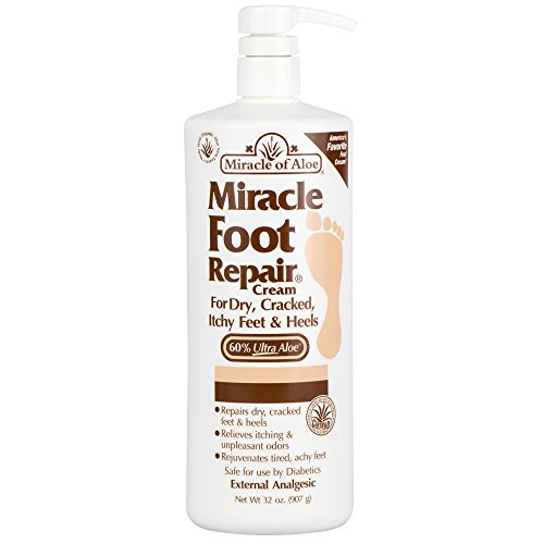 miracle-foot-repair-cream-32-oz-with-60-pure-organic-aloe-vera-softens-dry-cracked-feet