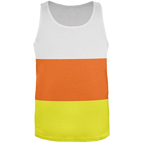 Old Glory Halloween Candy Corn Costume All Over Adult Tank Top - Large]()