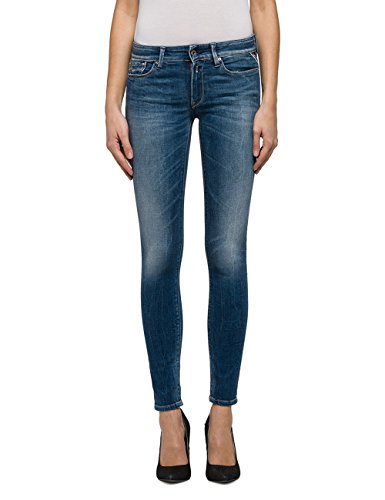 REPLAY Women's Luz Women's Medium Light Skinny-Fit Jeans In Size 27W 30L Blue (Women Replay Jeans)