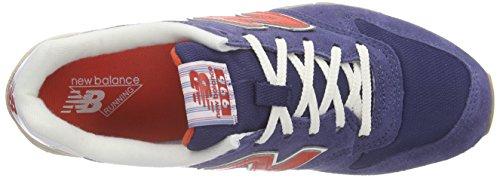 Nieuw Evenwicht Damen Wl996v2 Sneakers Blau (blauw / Oranje)