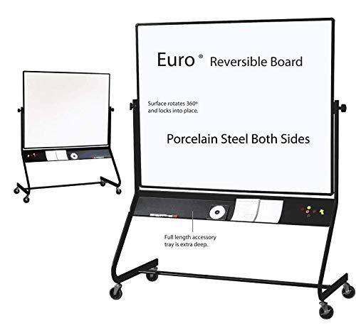 Best-Rite Euro Reversible Board (Porcelain Steel Both Sides) 4'H x 6'W