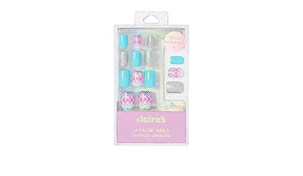 Amazon.com: Claires Girls and Womens And Ombre Aztec Print ...