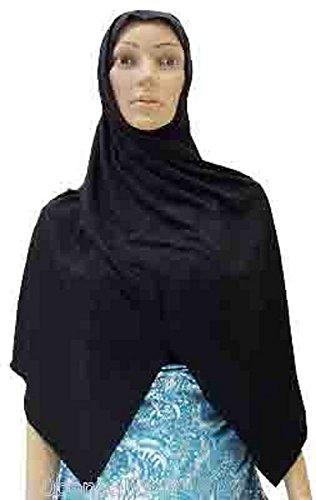 XL Egyptian Cotton Amira Hijab Hearscarf Scarf Hejab Veil Abaya Jilbab Islamic (Scarf Abaya)