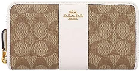 Coach Coach Long Wallet F54630 Signature Long Wallet Ladies [Outlet Product] [Parallel Import]
