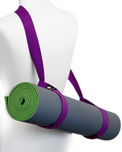 - Pelikus Yoga Mat Carry Strap Sling - Adjustable, Durable, Cotton