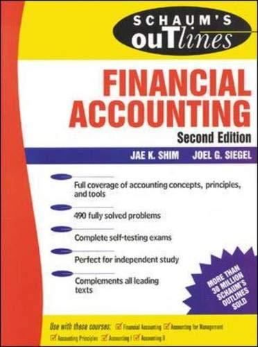 Schaum's Financial Accounting 2 Ed.