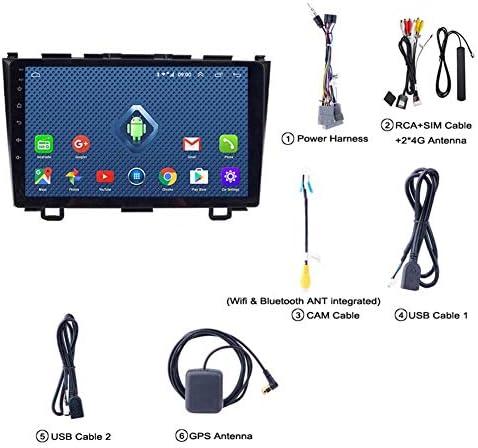 ホンダCRV 2007-2011のGPSナビゲーション簡単なインストールサポート受信機ビデオプレーヤーFM /ラジオWIFI/Bluetooth/TF/USB/AUX/ステアリングホ