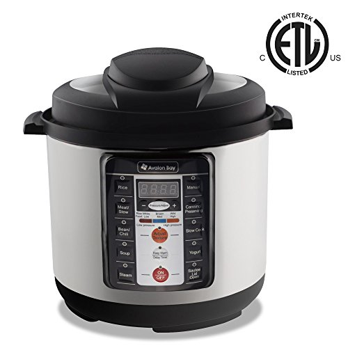 Avalon Bay Multi Cooker Stainless PC1000SS