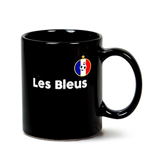France World Cup Mug Football Kit For Russia 2018 French National Team Store Soccer Jersey For Fans Of Le Bleus #11 by artsonia