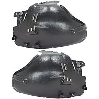 06-09 Solstice Front Splash Shield Inner Fender Liner Panel Left Right SET PAIR